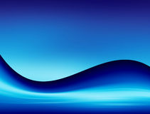 Blue dynamic Royalty Free Stock Images