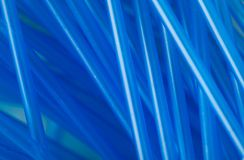 Blue ear sticks abstraction Royalty Free Stock Photos