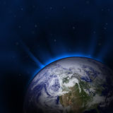 Blue Earth Royalty Free Stock Photo