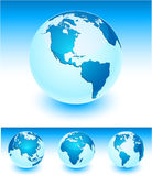 Blue Earth. Royalty Free Stock Image
