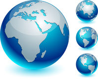 Blue Earth. Stock Images
