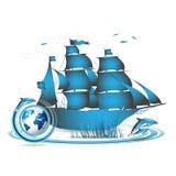 Blue Earth Royalty Free Stock Photos