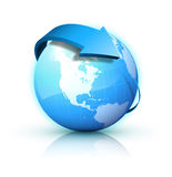 Blue earth Stock Images