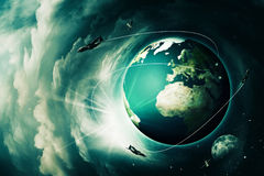 Blue Earth stock illustration