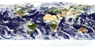 Blue Earth Globe stock image