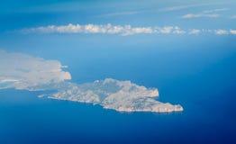 Blue Earth Mallorca Stock Photo