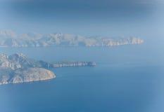 Blue Earth Mallorca Stock Photos