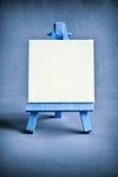 Blue easel Stock Photos