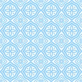 Blue east patterns. On a white background Stock Images