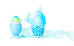 Blue Easter decoration Royalty Free Stock Photos