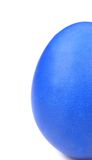 Blue easter egg. Royalty Free Stock Photography