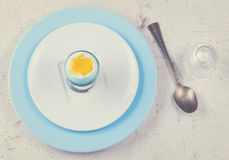 Blue easter eggs Royalty Free Stock Image