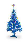 Blue Easter tree. Stock Images