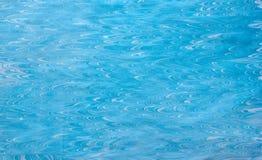 Blue ebru Stock Image