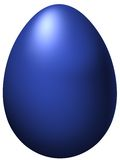 Blue egg Royalty Free Stock Photography
