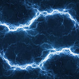 Blue electric lighting. Abstract electrical background Stock Illustration