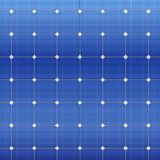Blue electric solar panel pattern. Vector Royalty Free Stock Photography