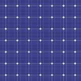 Blue electric solar panel seamless pattern. Vector Royalty Free Stock Photography