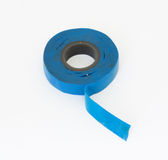 Blue electric tape Royalty Free Stock Photography