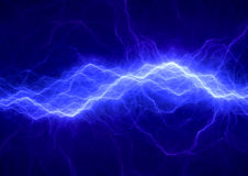 Blue electrical background, Royalty Free Stock Photo