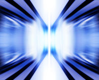Blue electromagnetic power. Wave mode of electromagnetic power, abstract background Stock Photography