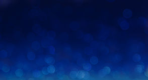 Blue elegant abstract bokeh background Stock Photos