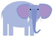 Blue elephant Royalty Free Stock Image