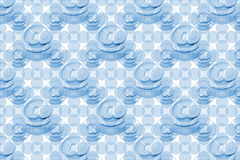 Blue Email Pattern Stock Photography