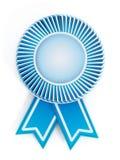 Blue empty badge Royalty Free Stock Photos