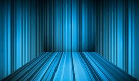 Blue empty interior. Vector illustration. eps10 Royalty Free Stock Image