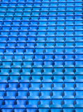 Blue empty seats Royalty Free Stock Photo
