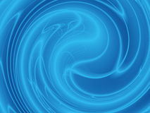 Blue Energy Background Stock Image
