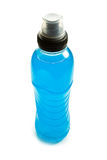 Blue energy drink Stock Images