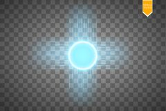 Blue energy ring abstract.conceptual vector design with free area in center for any object. Vector Royalty Free Stock Images