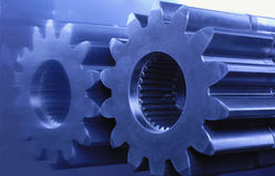 Blue engineering Stock Images