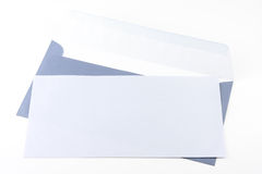 Blue envelop Stock Image