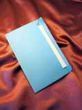 Blue envelope Stock Photo