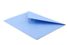 Blue envelope Royalty Free Stock Photo