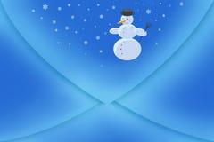 blue envelope Стоковые Фото