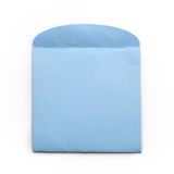 Blue envelope. On white background, clipping path Stock Photo