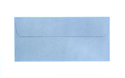 Blue envelope isolated Stock Photos
