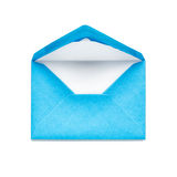 Blue envelope Royalty Free Stock Image