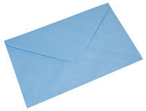 Blue envelope Royalty Free Stock Photo