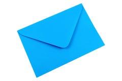 Blue envelope Royalty Free Stock Photos