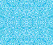 Blue Escher graphic Royalty Free Stock Photography