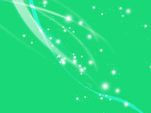 Blue Ethereal. A simple blue green ethereal abstract to add personality, movement and life to your work vector illustration