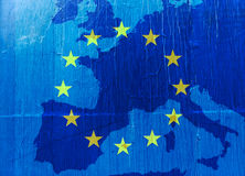 Blue europe Stock Images