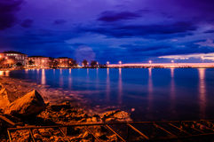 Blue Evening After Sunset Royalty Free Stock Photo