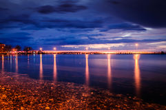 Blue Evening After Sunset Stock Photography