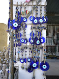 Blue Evil Eye Charms Stock Image